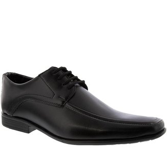 Sapato Social Valença Detalhe em Recortes Marrom - 46