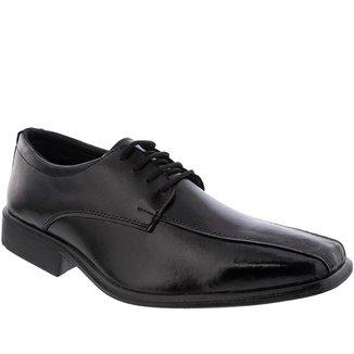 Sapato Social Valença Pespontos Preto - 37