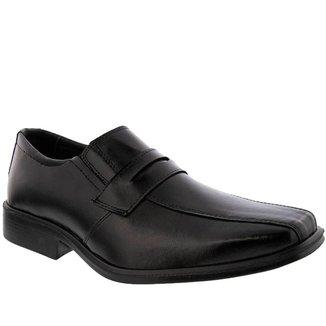 Sapato Social Valença Pespontos Preto