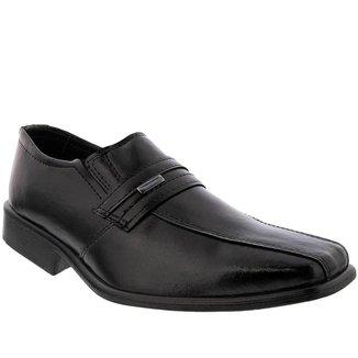 Sapato Social Valença Recortes Preto - 46