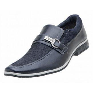 Sapato Social Venetto Lona Jeans