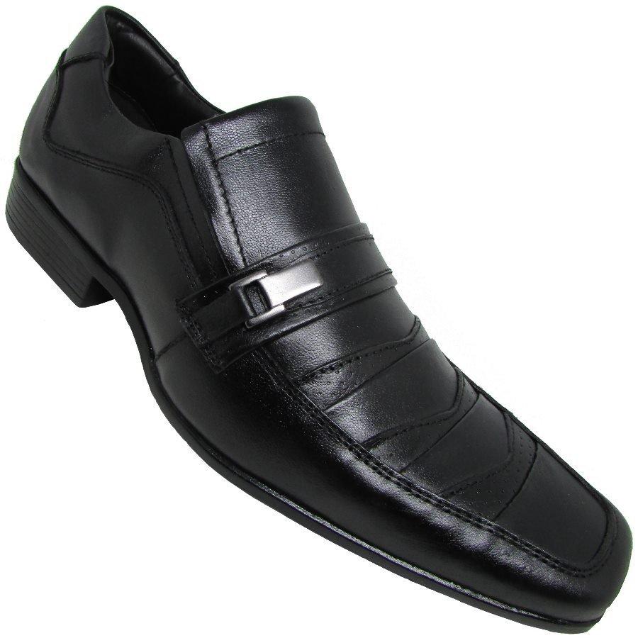 Sapato Preto Masculino Social Caprina Vergatto Sapato Social q07anY05