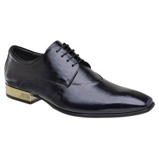 Sapato Social Verniz Jota Pe Purple Blue 2284g