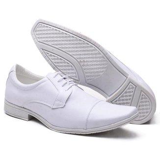 Sapato Social Versales Branco Masculino