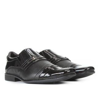 Sapato Social Walkabout Básico Verniz Masculino