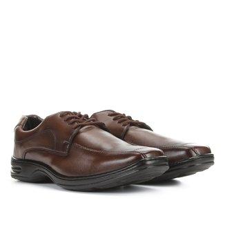 Sapato Social Walkabout Cadarço Bico Quadrado Masculino