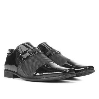 Sapato Social Walkabout Verniz Textura