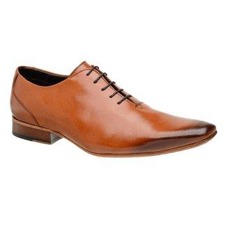 Sapato Social Wholecut Masculino Malbork Couro Caramelo 520