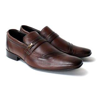 Sapato Social Zanuetto Confort  Liso Masculino
