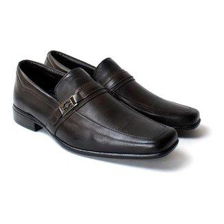 Sapato Social Zanuetto Couro Confort Masculino