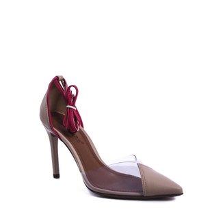 Sapato Suzana Santos Amarração Feminino