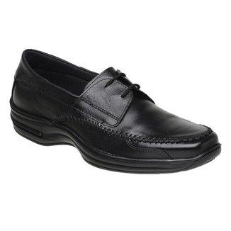 Sapato Torani SLZ Confortável Cadarço Couro
