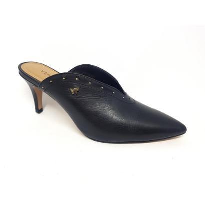Sapato Verofatto Mule Social Couro Feminino