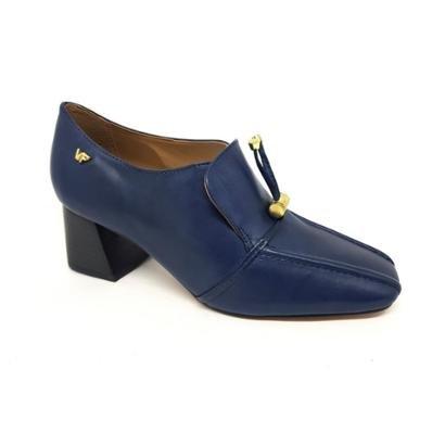 Sapato Verofatto Oxford Salto Bloco Couro Feminino