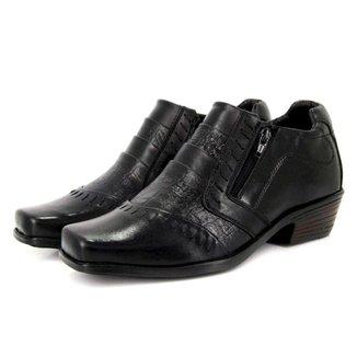 Sapato Vicarello Ziper Masculino