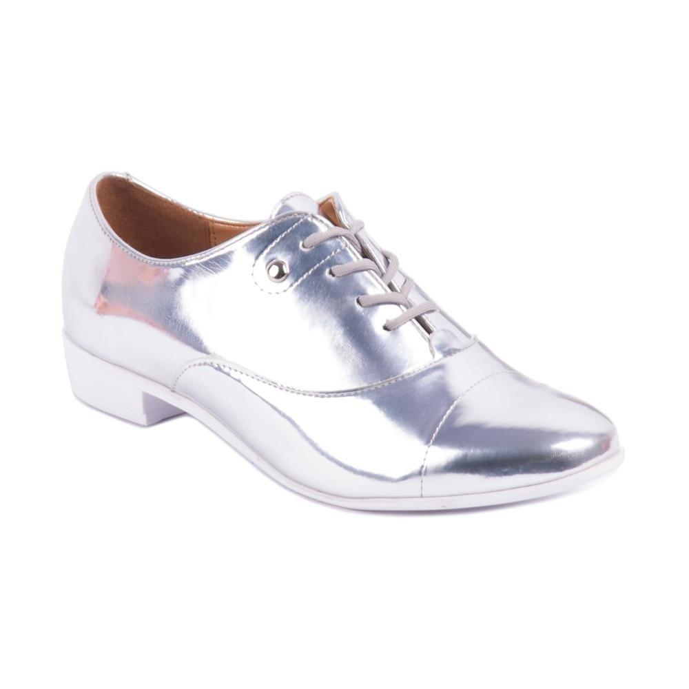 Sapato Prata Vizzano Oxford Vizzano Sapato Metalizado nx8wxqYT7f