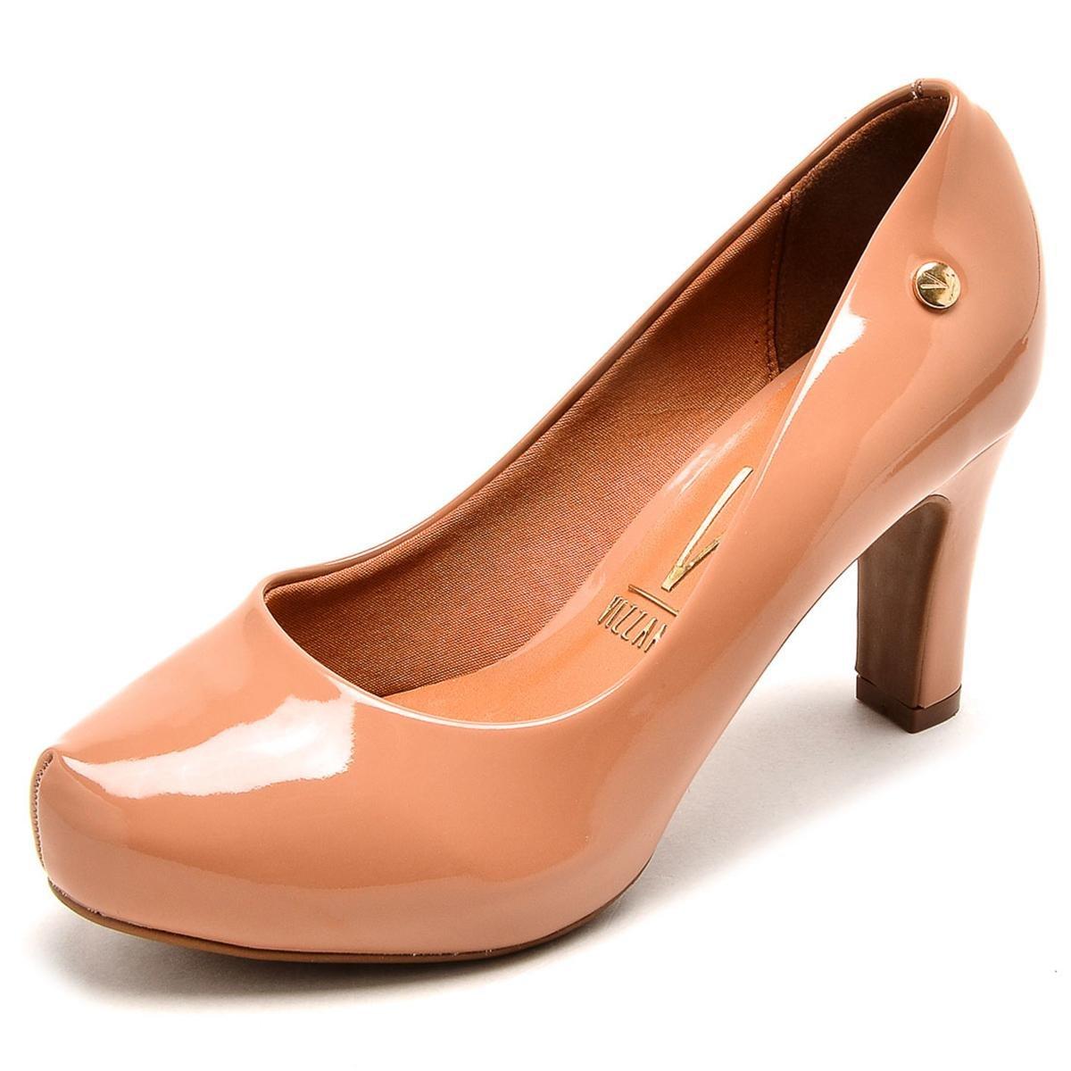 Bizz Store - Sapato Feminino Vizzano Salto Alto Verniz