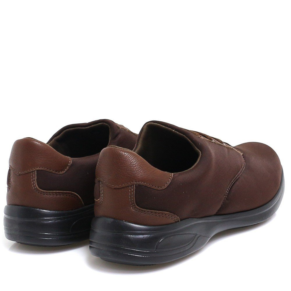 Zariff Casual Diabéticos Marrom Shoes Sapato Para Zariff Sapato 6EwHxBqfP