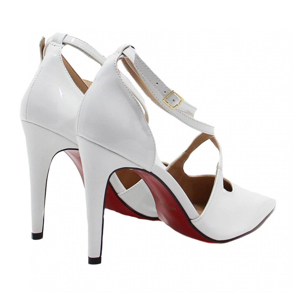 38fbfa6c65 Sapato Zariff Shoes Scarpin Noivas - Compre Agora