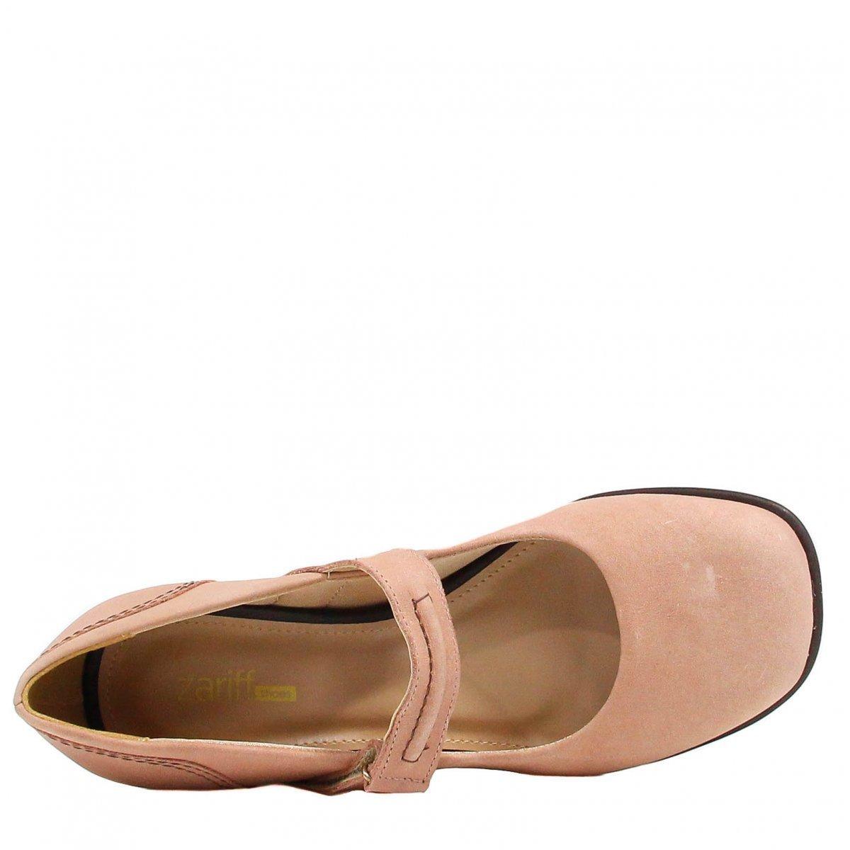 Nude Sapato Zariff Shoes Sapato Scarpin Salto Velcro Salto Zariff Scarpin Shoes vP1qnZxw