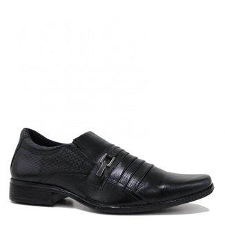 Sapato Zariff Shoes Social Bico Quadrado