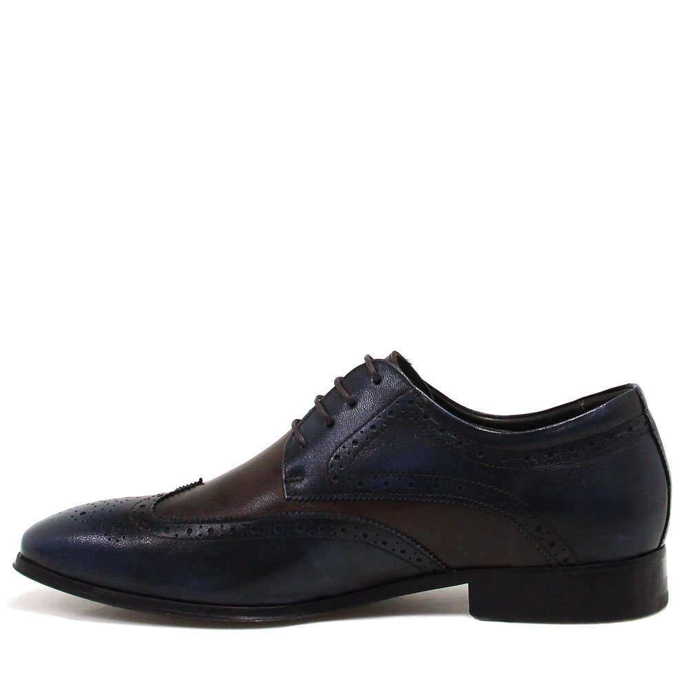 Social Brogue Sapato Azul Shoes Social Azul Shoes Sapato Brogue Zariff Zariff 1qqHITw