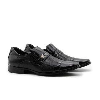 Sapatos Masculinos Social Estilo Italiano Cromo 2001