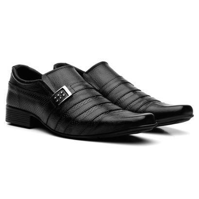 Sapatos Social Couro Fran Garcia Fivela Masculino