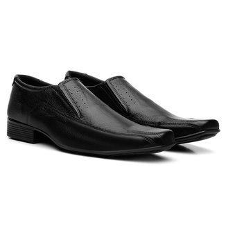 Sapatos Social Couro Fran Garcia Liso Masculino