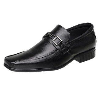 Sapatos Social Silva&silva Masculino Couro 3031 Preto