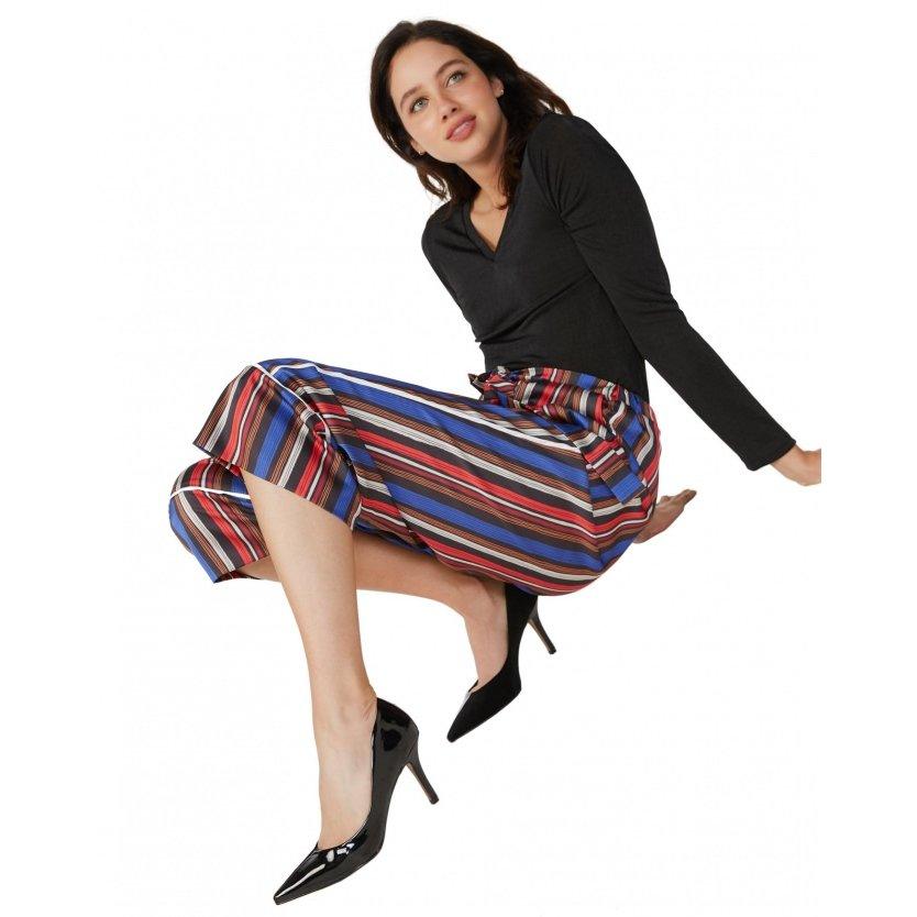 Scarpin Amaro Feminino Fino Recorte Amaro Salto Preto Salto Fino Scarpin HxO5w4nqF6