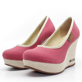 Scarpin Barth Shoes Land SL Juta Nat Lona Feminino
