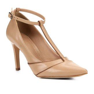 Scarpin Couro Shoestock Athleisure Salto Alto