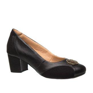 Scarpin Feminio Joanete 288 em Couro Doctor Shoes