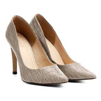 Scarpin Shoestock Croco