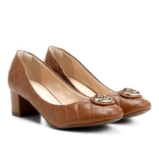 Scarpin Shoestock Matelassê Medalha