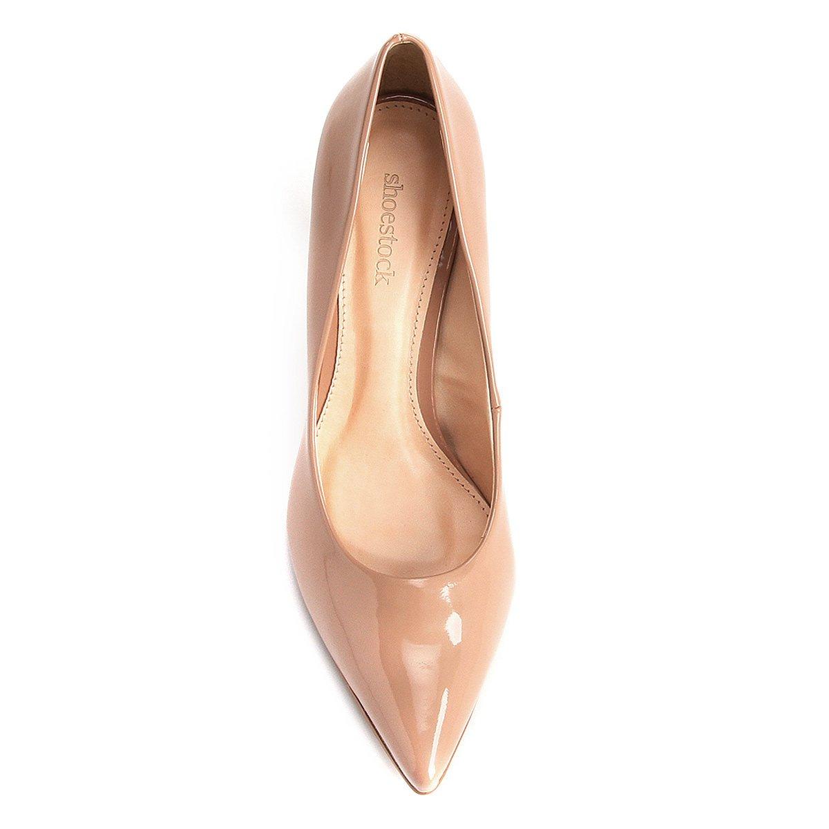 Scarpin Salto Claro Rosa Alto Shoestock Scarpin Shoestock Cone aSfq5tw