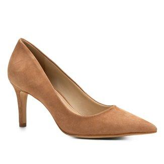 Scarpin Shoestock Salto Alto Nobuck