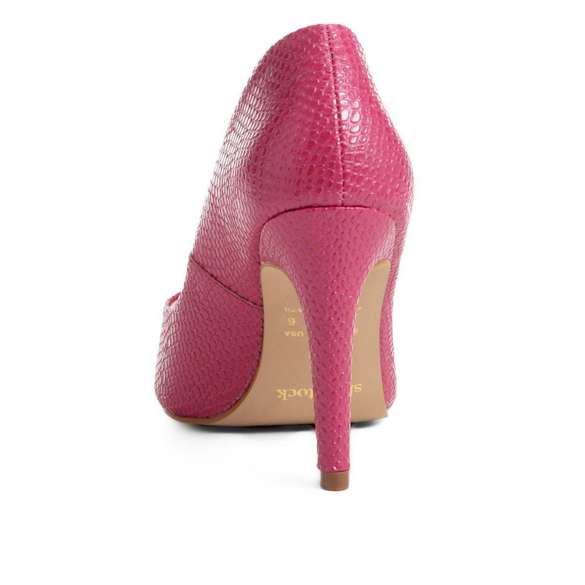 Salto Alto Pink Scarpin Shoestock Shoestock Serpente Scarpin qUOSxZ4t