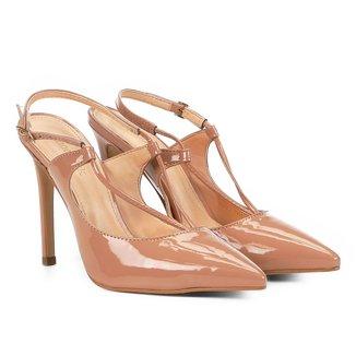 Scarpin Shoestock Salto Alto Tiras