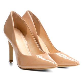 Scarpin Shoestock Salto Alto Verniz