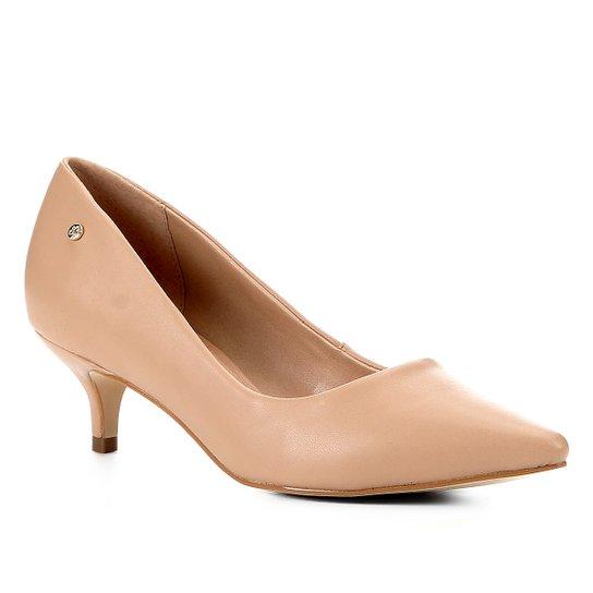 Scarpin Shoestock Salto Baixo Naked - Noz