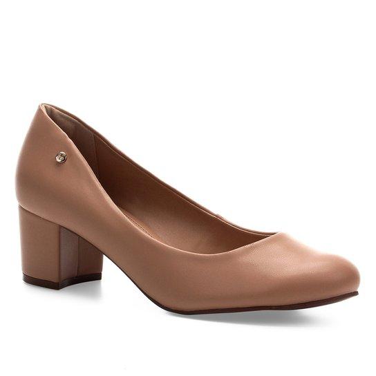 Scarpin Shoestock Salto Bloco - Noz