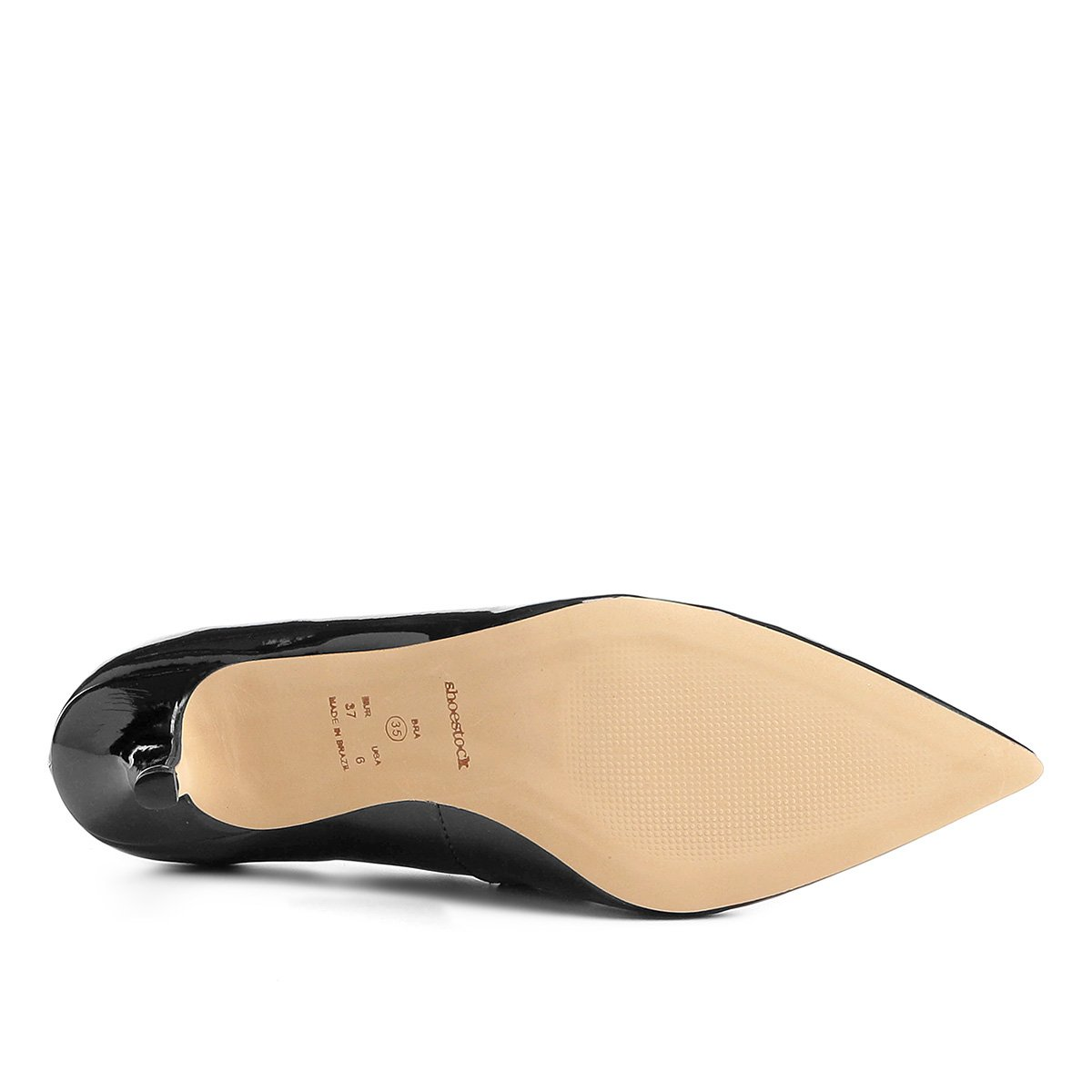 Scarpin Shoestock Preto Básico Salto Médio Shoestock Scarpin U6w8WCC