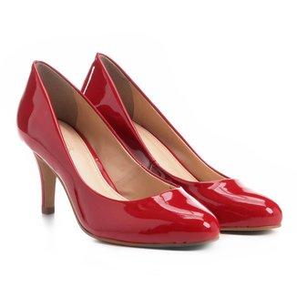 Scarpin Shoestock Salto Médio Bico Amendoado