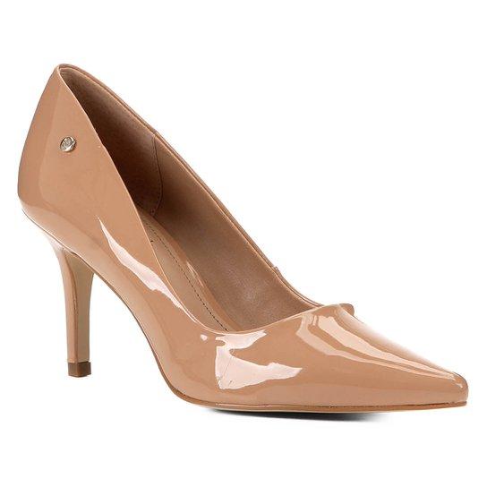 Scarpin Shoestock Salto Médio Naked - Noz