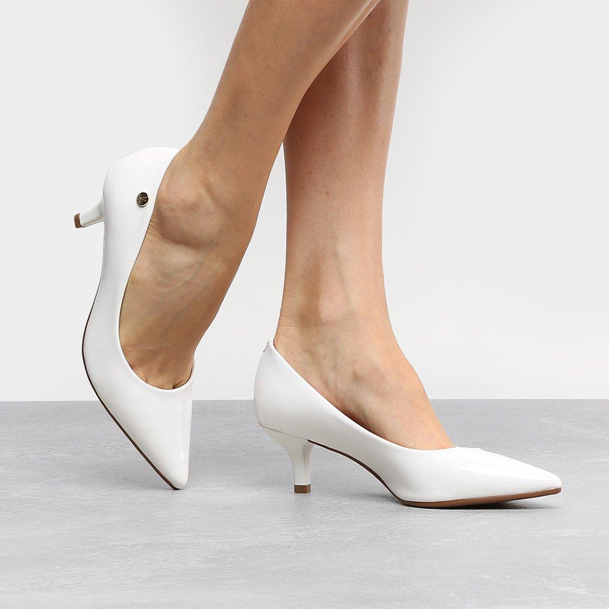 sapatos genuínos muito legal tomada para venda scarpin