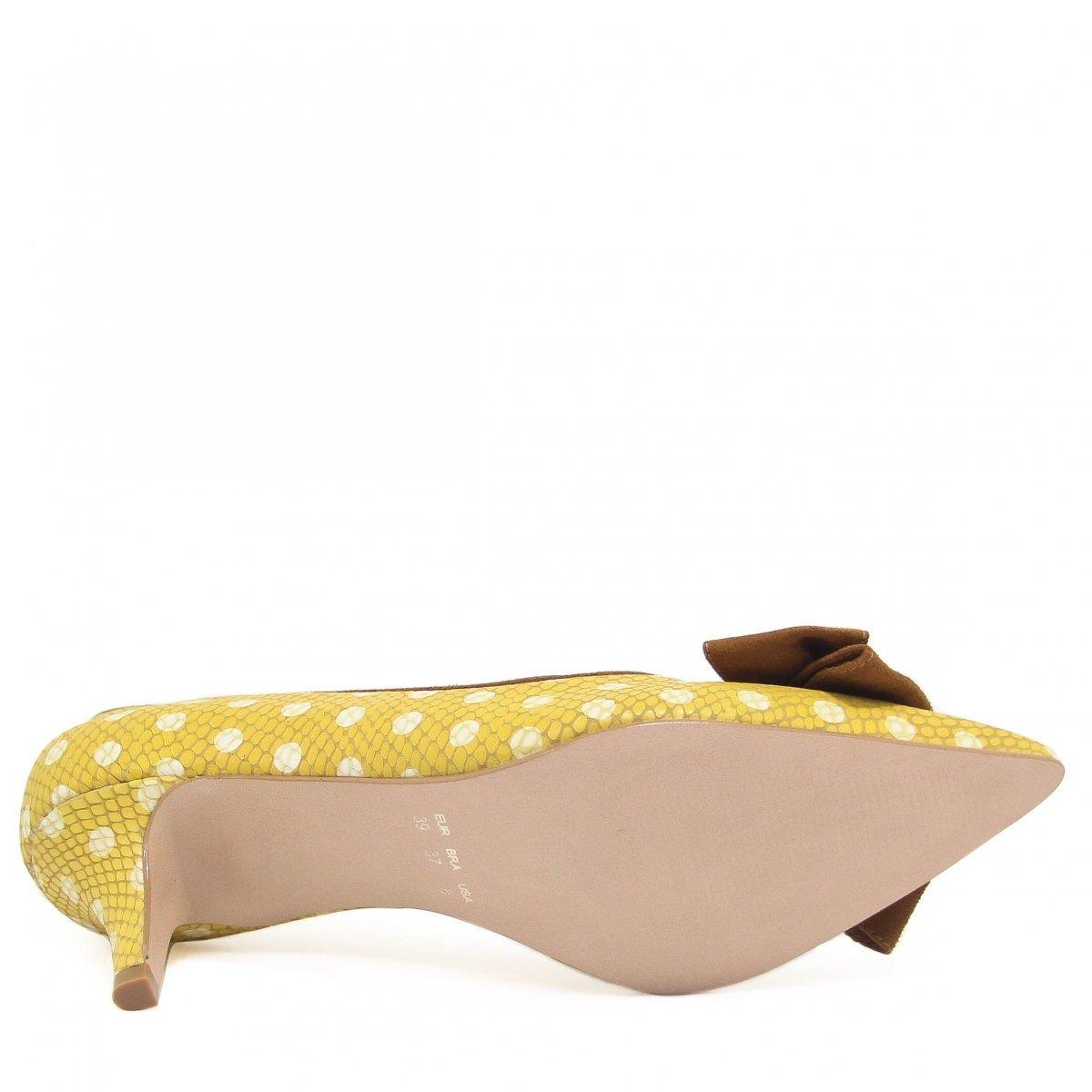 Shoes Feminino Amarelo Zariff Scarpin Scarpin Zariff Laço tRnqg7aF