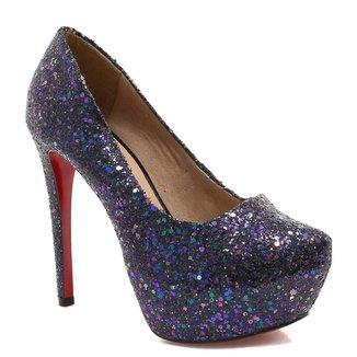 Scarpin Zariff Shoes Pump Glitter