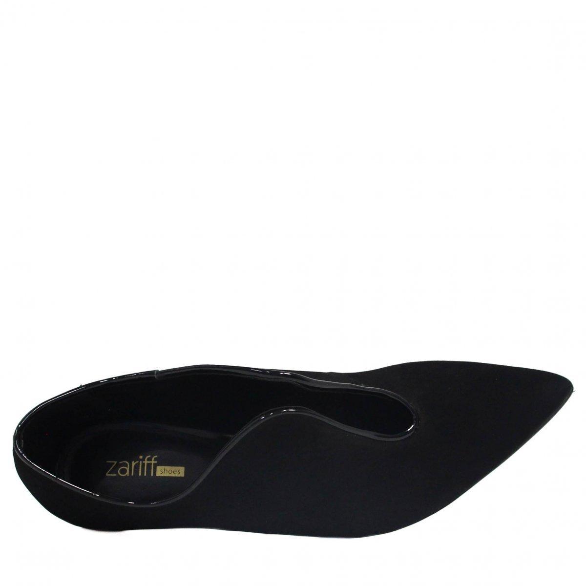 Shoes Scarpin Salto Scarpin Feminino Zariff Zariff Preto Fino tB7tx1qnw